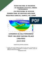 Examen Final Geofisica Aplicada Leo