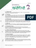 Cap 0. Matemáticas Recreativas 2