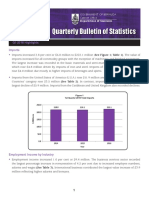 Quarterly Bulletin of Statistics - Q1 2016
