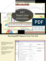 BIRT Report Instructions