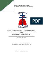Reglameto de Visitas Medicas