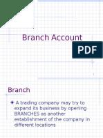 Branch Account