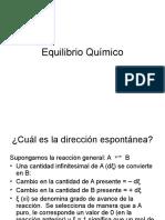 Clase Equilibrio_quimico 2016 I