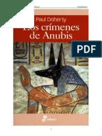 Paul Doherty - Amerotke 03 - Los Crimenes de Anubis