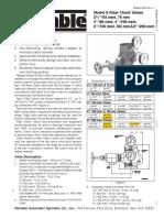 806 Model G Right Check Riser Measurements