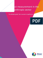 Sinzer Guide Social Impact Measurement in the Philanthropic Sector