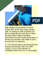 re OC FAIR WHITE PRIVILEGE WORKER  SACRIFICING WHITES & BLACK LIVES MATTER