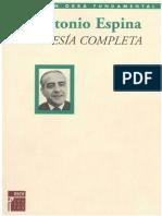 Espina Antonio - Poesia Completa