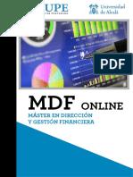 Master en Dirección y Gestión Financiera