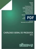 Catálogo de Produtos Alfacomp - 2016