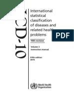 ICD 10 Volume 2 en 2016