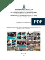 Dissertação Prática Pedagógica Na Educação Infantil Marttem 01 09 2013