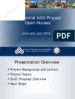 Residential Infill Project OpenHouse Presentation