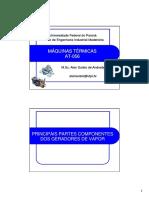 Principais Componentes Dos Geradores de Vapor