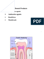 Lecture 6 - Dental Product