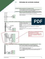 Conexión Corriente Residual CSH30