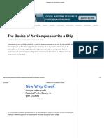 Air Compressors Ship