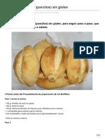 Modoglutenfree.com-Receta de Bolillitos Pancitos Sin Gluten