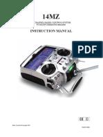 Manual Futaba 14MZ En