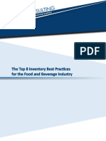 The Top 8 Inventory Best Practices for the Food and Beverage Industry