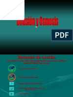 Difusion y Osmosis Completo