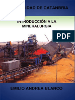 Introduccion a La Mineralurgia