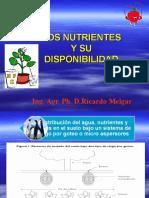 LOS NUTRIENTES Y SU DISPONIBILIDAD.ppt