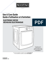 Maytag Dryer Use & Care Guide