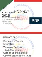 Palarong Pinoy 2016