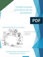 Complicaciones Quirúrgicas de Las Parasitosis