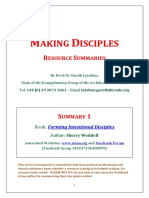 Summary - Forming Intentional Disciples
