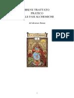 Trattato Fasi Alchemiche Salvatore Brizzi Part1