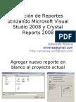 Reportes (CrystalReports Con VS2008)