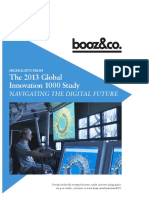 Strategyand 2013 Global Innovation 1000 Study Navigating the Digital Future Media Report