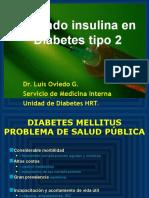 Dr. Oviedo Insulinoterapia en DM 2 - Junio 2009