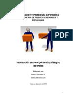 Interaccion entre ergonomía y riesgos laborales