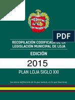 Recopilación codificada de la Legislación del Municipio_2015.pdf