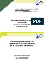 Biblioteca_70_Panorama Para El Manejo de Diaphorina Citri, Vector Del HLB, En La Citricultura Colombiana