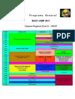 Boot Camp Programa Gral ZONA IV