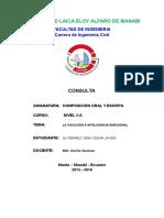 COMPOSICIÓN ORAL Y ESCRITA