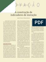 A Construção de Indicadores de Inovação