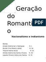 1ª Geração Do Romantismo