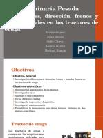 Diferencial, Frenos, Direccion y Mandos Finales