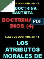 Leccion 15 Doctrina de Dios