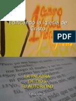 Edificando La Iglesia de Cristo