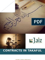 Contracts in Takaful Final
