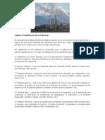 Capítulo VI Clasificación de Las Industrias