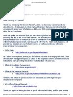 Re_ Va Follow Up Information - Va Secretary