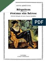 Anna Ajmátova - Réquiem-Poema Sin Héroe