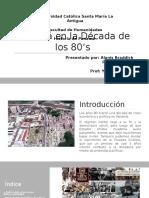 Panamá en La Década de Los 80's